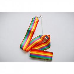 Gymnastikband 4m - Regenbogen
