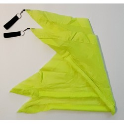 Neon gelbe Flags