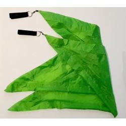 Neon grüne Flags