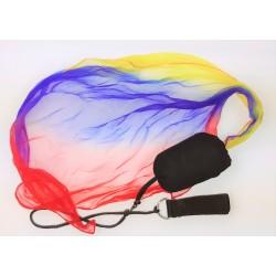 Rainbow Poi Blau-Rot-Gelb für Kinder (Kurz)