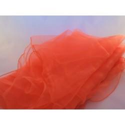 5 x Jongliertücher Zaubertücher Tanztücher Gymnastiktücher Dekotücher orange