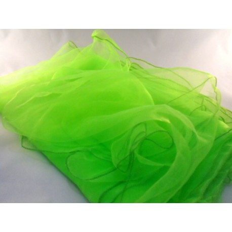 5 grüne Jongliertücher Zaubertücher Tanztücher Gymnastiktücher Dekotücher