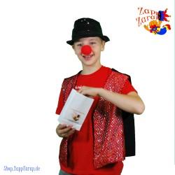 Clownsnase aus Schaumstoff