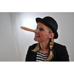 Lange Nase Pinocchio Langnase Lügen Riesennase Marionette Lügennase Fasching Kostüm Zubehör