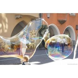 50ml Seifenblasenflüssigkeit (Soap Bubble Fluid) für Riesenseifenblasen und normale Seifenblasen