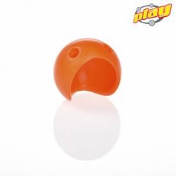 Orange Clownsnase aus Silikon in verschiedenen Größen